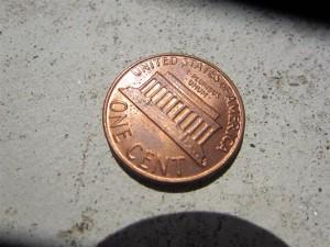 Amerikai pénzek: egycentes, Penny