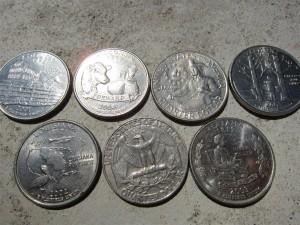 Amerikai pénzek: huszonöt centes, Quarter