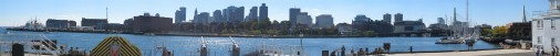 Boston view from Old Ironside