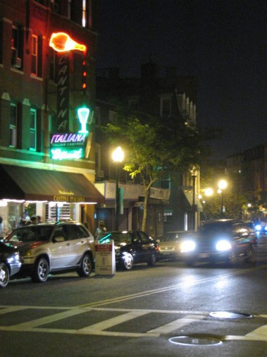 Boston olasz negyed