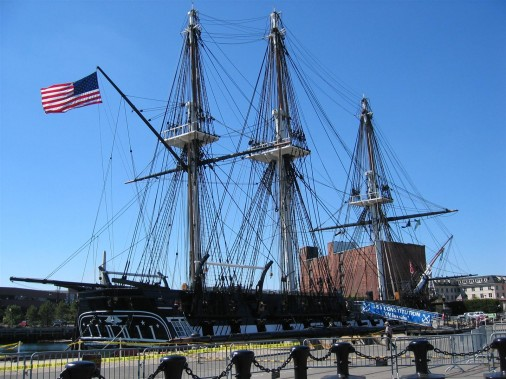 Boston USS Constitution - Old ronside