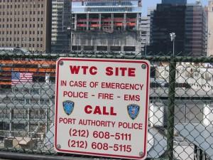 Ground zero 2004.