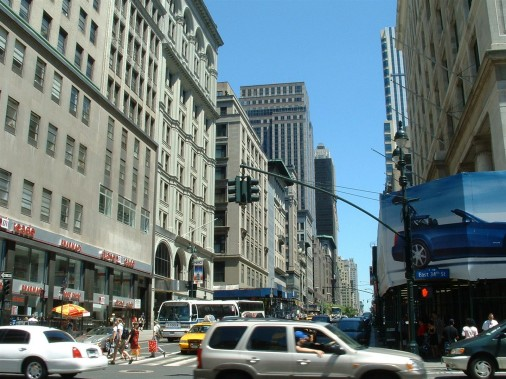 New York utcakép