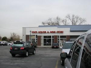 Állami italbolt Utah államban