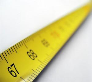 Amerikai mértékegységek - inch mérőszalag